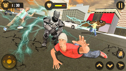 Panther Superhero Battleground: City Survival Game For PC