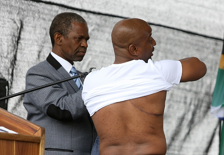 Zulu prince tells of how queens prayed for his recovery