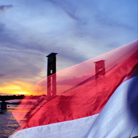 my flag by Basuki Kristanto - Landscapes Sunsets & Sunrises