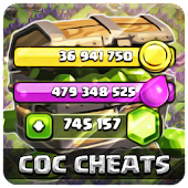 Free Gems Clash of Clans - Cheats Simulator