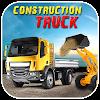 Construction Truck Hill Sim