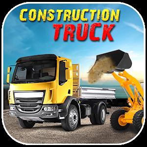 Cover art Construction Truck Hill Sim