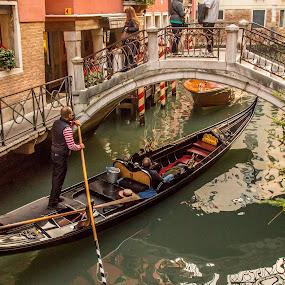 by Mario Horvat - Transportation Boats ( benetke, travel, architecture, boat, people, canal, historic, venezia, gondola, touristic, italia, tourists, popular, venice, italy,  )