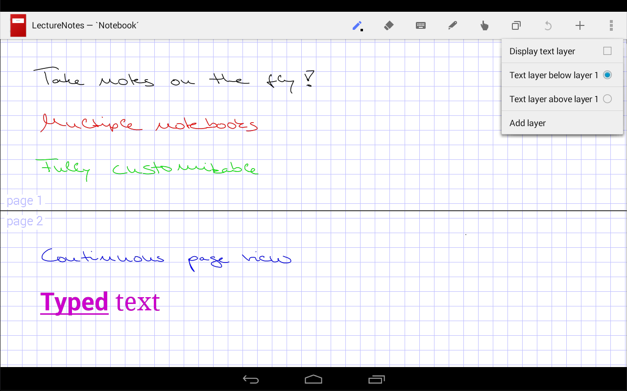 LectureNotes Screenshot 5