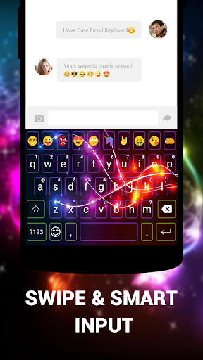 Emoji Keyboard Cute Emoticons - Theme, GIF, Emoji screenshot 6