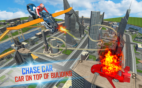 Futuristic Flying Moto Racing Apps On Google Play