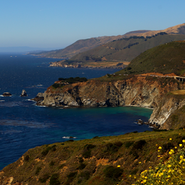 What a coast by Manny Del Valle - Landscapes Travel ( picturesque, shoreline, scenic, highway 1, coastline, ocean view,  )