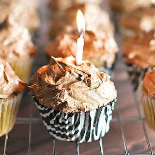 Coffee Cupcakes with Chocolate Buttercream Frosting