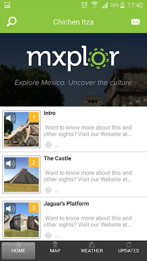 Mxplor Chichen Itza Audio Tour - screenshot