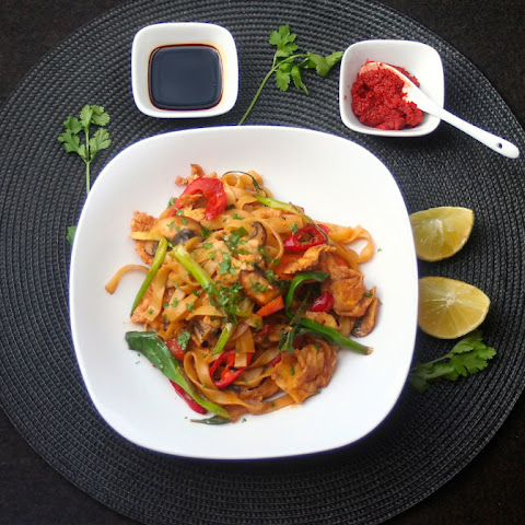 Spicy Vegetable Drunken Noodles