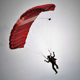 Parachute Jump #2 by Koh Chip Whye - Sports & Fitness Other Sports