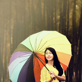 Umbrella by Endra Kurniawan - Novices Only Portraits & People
