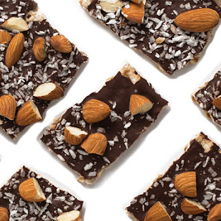 Kosher Chocolate Covered Matzo Bark
