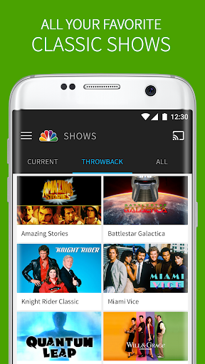 The NBC App - Watch Live TV and Full Episodes screenshot 3