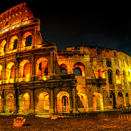 Coloseum by Stanley P. - Buildings & Architecture Public & Historical ( architecture )