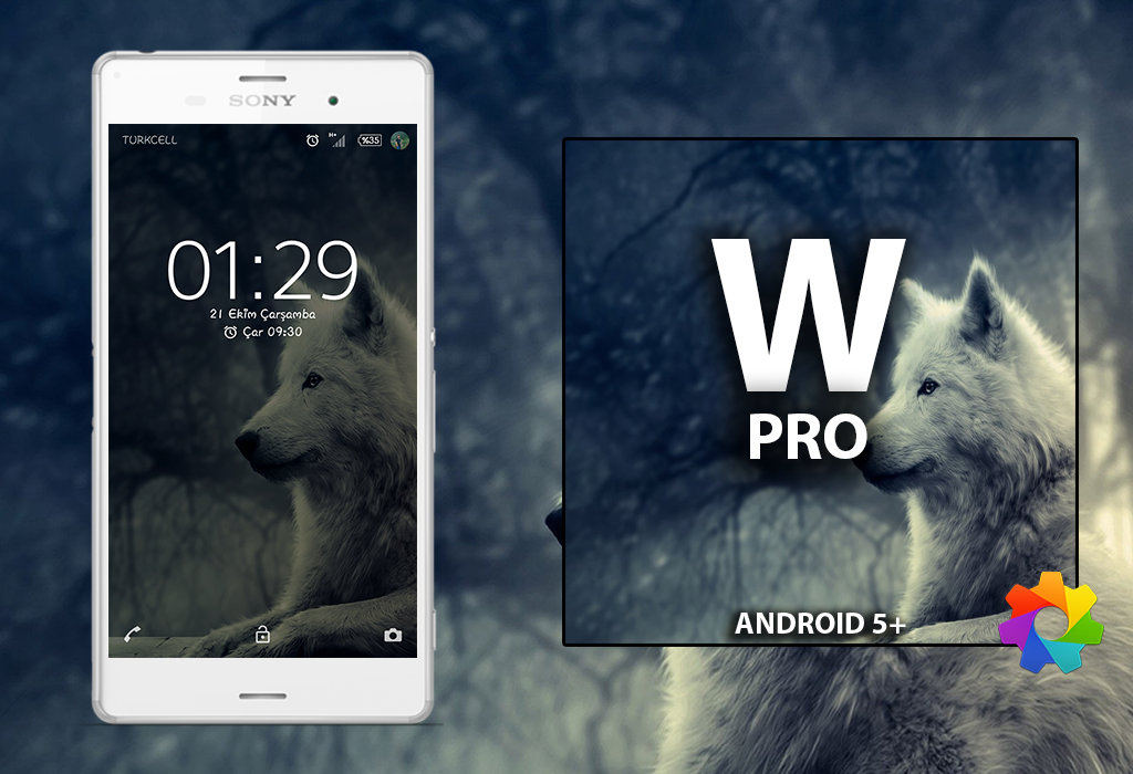 Theme Xperien Wolf Pro Screenshot