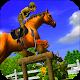 Horse Jumping Racing