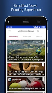 App JioXpressNews - Trending News APK for Windows Phone