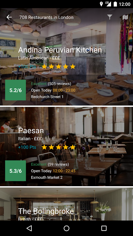 Quandoo - Restaurant Bookings Screenshot 1