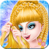 Game Ice Queen Braided Hairstyles APK for Windows Phone