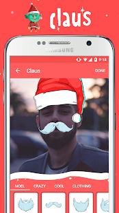 Claus - Christmas fun photos - screenshot