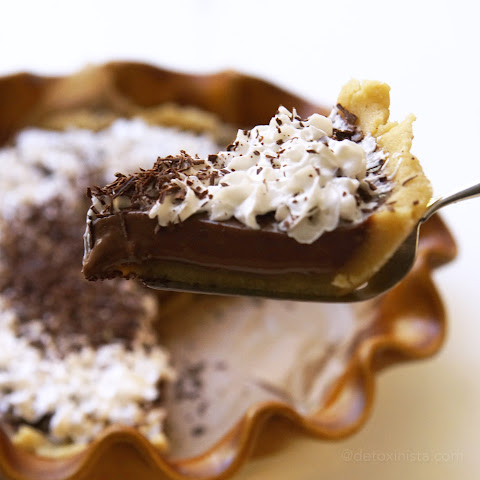 Vegan French Silk Pie (Soy-free!)
