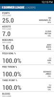 Screenshot of NBA Game Time 2014-15
