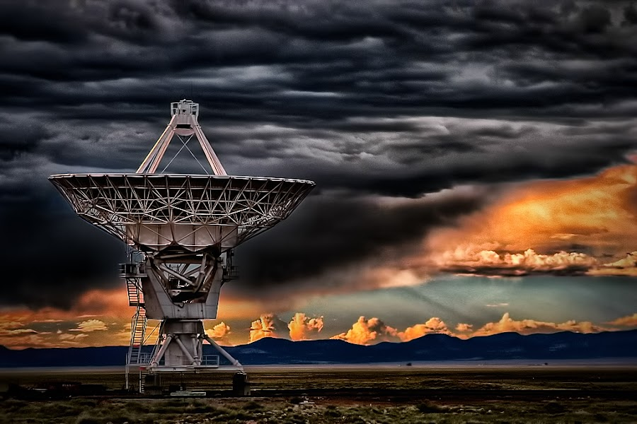 Storm Brewing by Ron Meyers - Landscapes Weather ( very large array, storm )
