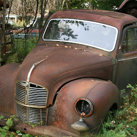 Very rusty by Benny Berget - Transportation Automobiles