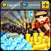 Coins gems Pixel Gun 3d - Joke App
