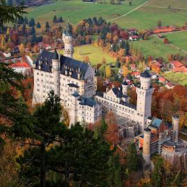 Château de Neuschwanstein by Christian Barth - Buildings & Architecture Public & Historical