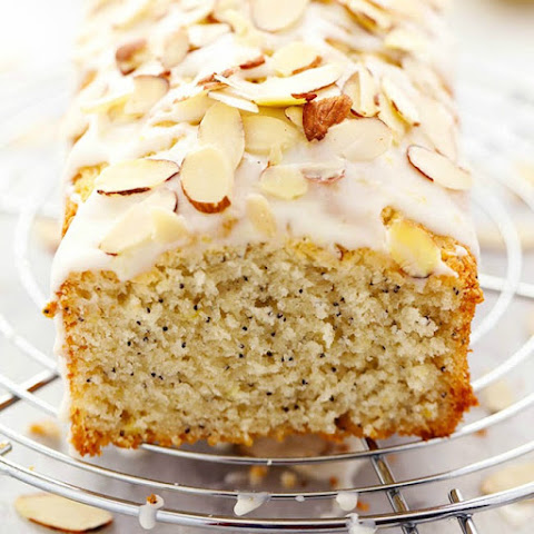 Lemon Almond Poppyseed Quick Bread