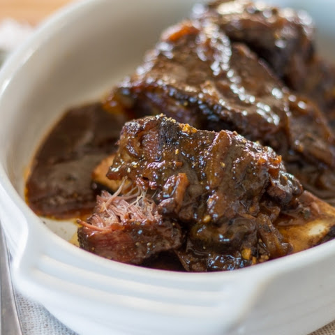 Sous Vide Smoked Beer-Braised Short Ribs