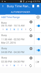 Busy SMS Text Messaging PRO Screenshot