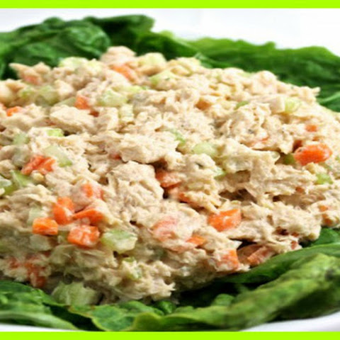 Skinny Buffalo Ranch Tuna Salad SmartPoints 1