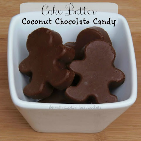 Cake Batter Coconut Chocolate Candy