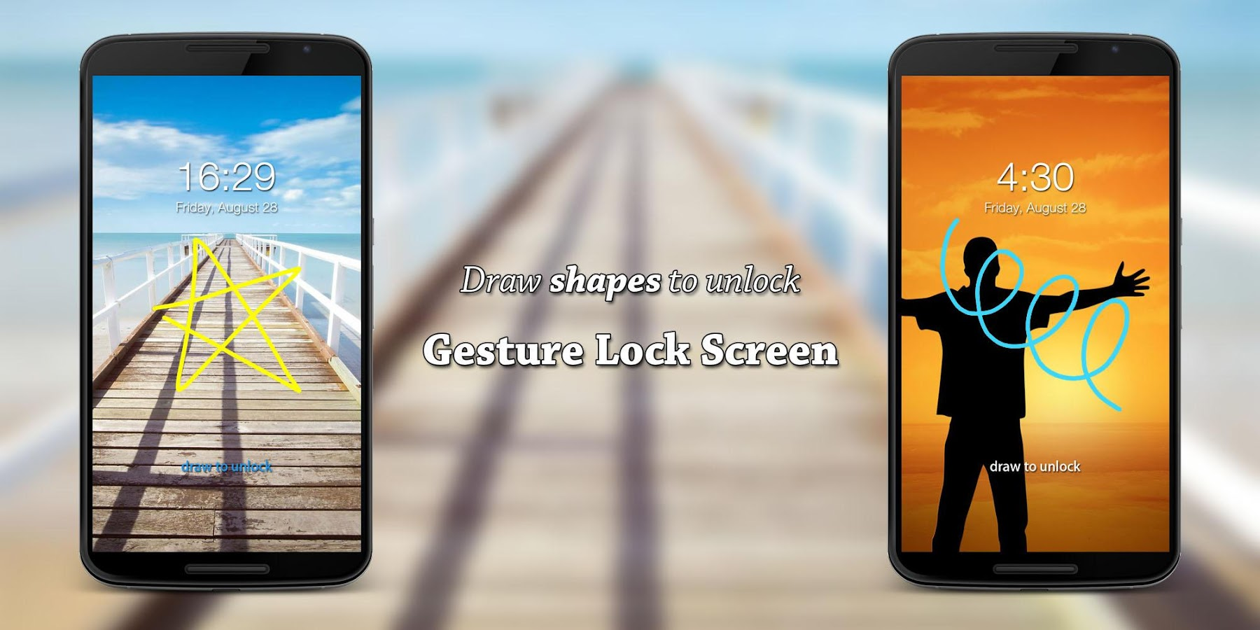 Gesture Lock Screen PRO Screenshot 1