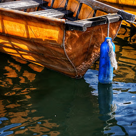 Blue  by Todd Reynolds - Transportation Boats