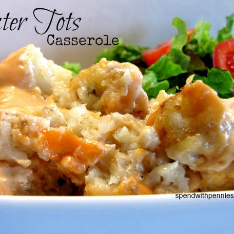 Tater Tot Casserole Slow Cooker