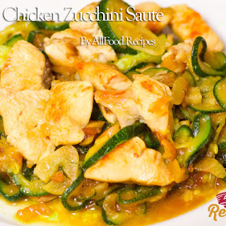 Easy Chicken Zucchini Saute