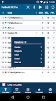 Screenshot of Fodbold DK Pro