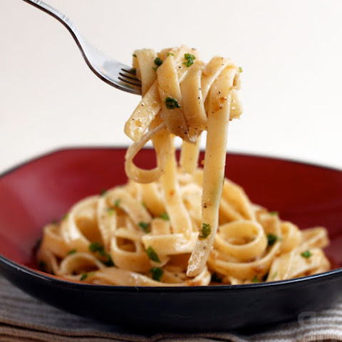 Pasta With Anchovy Sauce