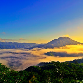 Batur Mountain, Bali by Widiantara Made - Landscapes Mountains & Hills