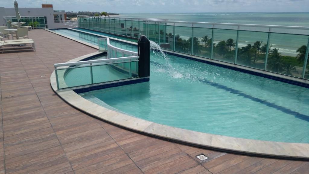 Apartamento com 2 dormitórios para alugar, 56 m² por R$ 1.400/mês - Loteamento Bela Vista - Cabedelo/PB