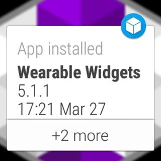 Wear App Manager - screenshot