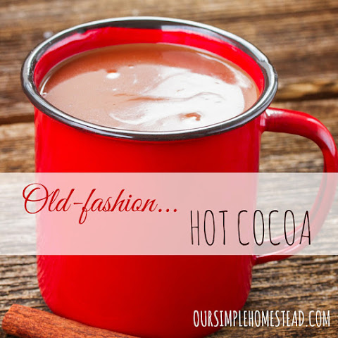 Old Fashion Hot Cocoa