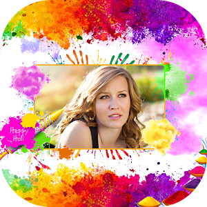 Happy Holi Photo frames 2017