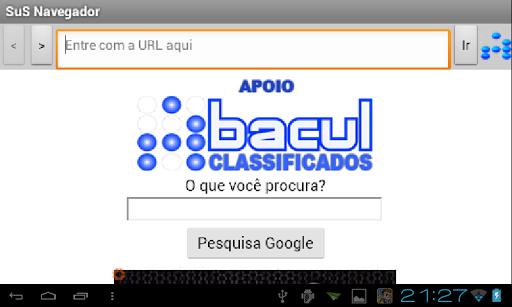 SuS Navegador screenshot 7