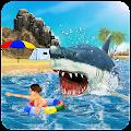 Angry White Shark Revenge 3D APK for Bluestacks
