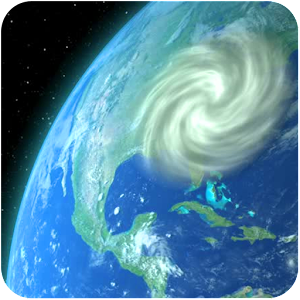 Wind Map 🌪 Hurricane Tracker (3D Globe & Alerts) For PC